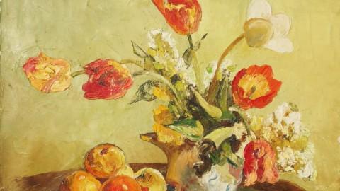 Bouquet pipe et fruits