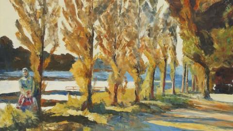 Peupliers en bord de Seine